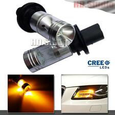 2PCS Yellow Amber PH24WY LED Bulbs For Audi Cadillac etc Front Turn Signal Light