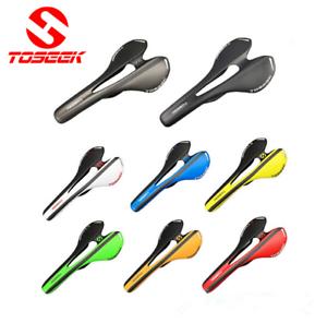 Carbon-3K-Mountain-Bike-Saddle-Ultralight-Comfort-MTB-Road-Bicycle-Seat-Cushion