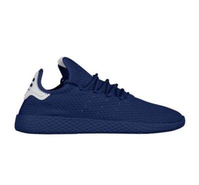 848b9063a BY8719 Adidas x Pharrell Williams Men Tennis Hu blue dark blue footwear  white