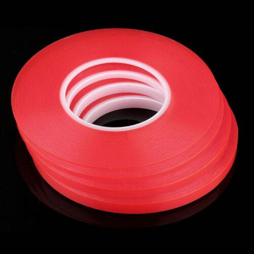 Rot Adhesive doppelseitigem Klebeband Starkes Klebeband für mobile Handy 50M w
