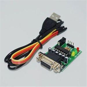 Module MAX232CPE Transfer RS232 To Ttl Converter ATMEGA16 Com Serial Board Ne ng