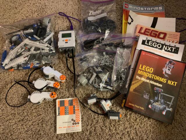 3 Motors 4 Sensors /& USB Cable Lego Mindstorms NXT: Intelligent Brick