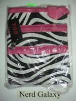 Zebra Print Pink Passport Crossbody Messenger Bag Purse, Free Shipping