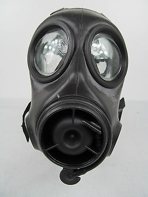 NEW British Army Police Twin Port FM12 Respirator Gas Face Mask Like S10 SIZE 3