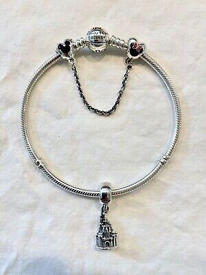 Nib Pandora Disney Parks Wonderful World Bracelet 8 3 Plus 2 Disney Charms Ebay