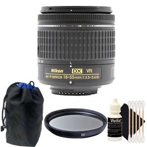Details about Nikon 18-55mm f/3 5 - 5 6G VR AF-P DX Nikkor Lens for Nikon  D3300 DSLR Camera