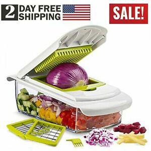 Fast Kitchen Hand Food Vegetable Salad Fruit Cutter Slicer Dicer Chopper Slicer