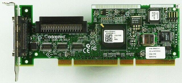 NEU/NOS: PCI Adaptec ASC-29160LP HIGH/IBM-2 PCI-x ID10023
