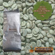 Caffè Verde in Grani Colombia Medellin Supremo 1 Kg - Caffè Arabica 100%