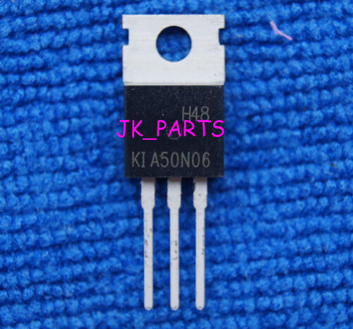 10pcs KIA50N06 RFP50N06 SFP50N06 50A 60V N Channel Power MosFETs