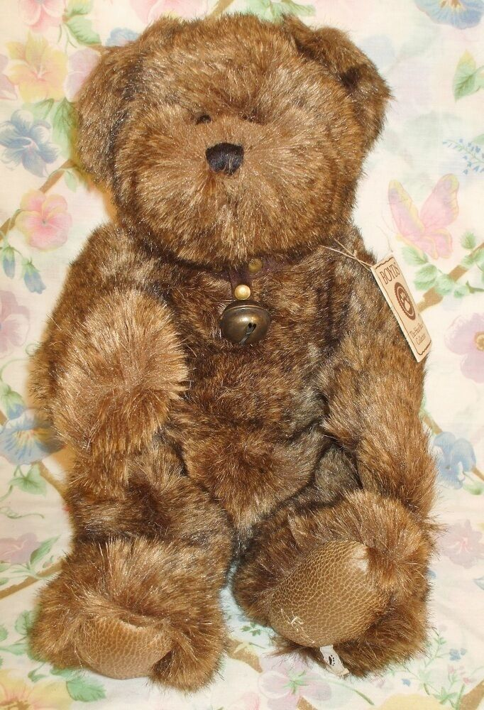 BOYDS 2006 SIGNATURE COLLECTION PLUSH 16  BEAR CORNELIUS Q BEARSWORTH NEW W  TAG