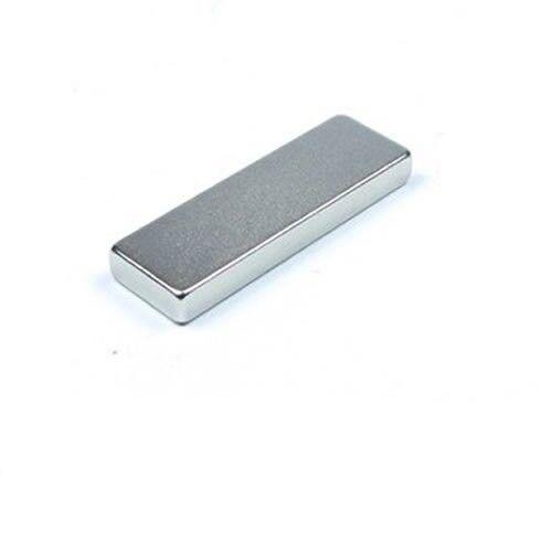 hält 3,2 kg 10 x Quadermagnet Magnet-Quader 25 x 8 x 3mm Neodym N40 Nickel