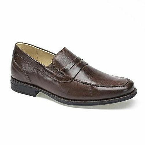 Anatomic & Co Mens​ Leather Slip On Comfort​ ​Penny Loafers Driving​ ​Shoes