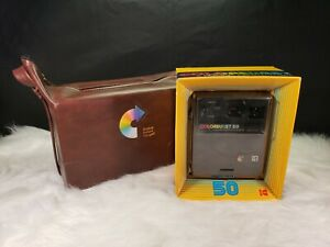 Vintage-Kodak-Colorburst-50-Camera-with-Kodak-Bag-New