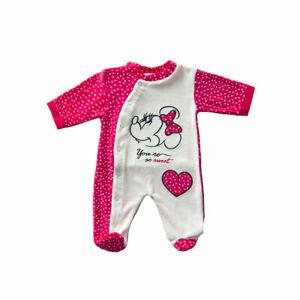 Tutina per neonata in ciniglia Minnie di Disney da 0 a 9 mesi WD101335 V400