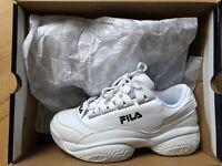 Sneakers, str. 39,5, Fila, Hvid, Lædertekstil