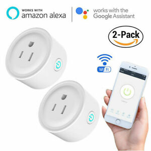 Smart-Plug-Mini-WiFi-Outlet-Wireless-Steckdose-kompatibel-mit-Alexa-Echo-Google