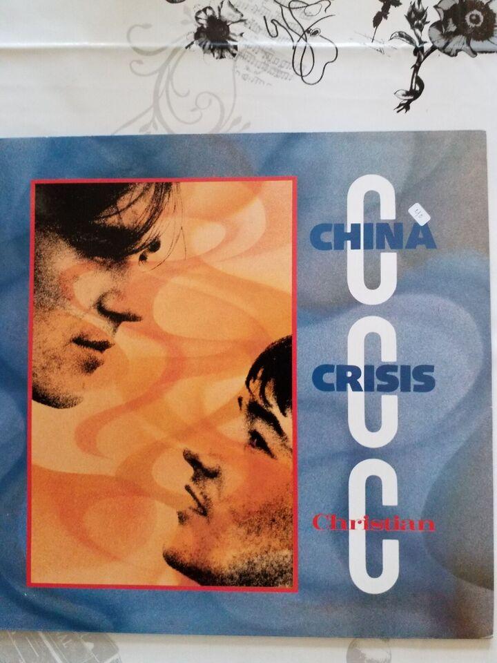 """Maxi-single 12"""", CHINA CRISIS, CHRISTIAN"""