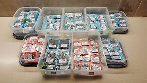 Confezione-da-40-doppi-aggraffatori-EXTRA-LARGE-in-4-dimensioni-regalo-gratuito-con-ogni-ordine