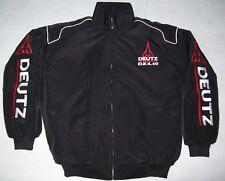 NEU DEUTZ DX 4,50 Traktor Fan- Jacke schwarz jacket veste jas giacca jakka
