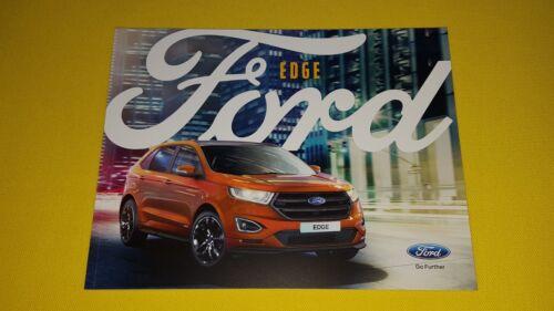 Ford Edge Zetec Titanium Sport Car Brochure Catalogue January  Mint New