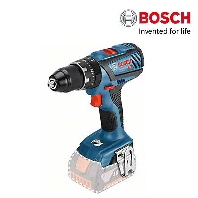 Bosch Gsb 18v 28 Professional Cordless Drill Bare Tool Only Body Ebay