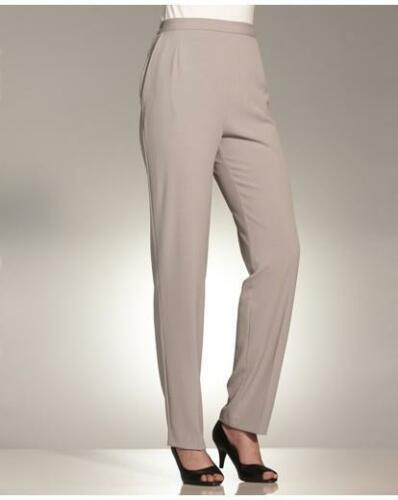 Simply Be Ladies Trousers Slimma Tummy Control Pants L 29 in Plus Size 24 Grey
