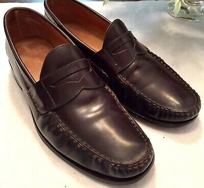 Jack Erwin Charlie Penny Loafers Made in Spain Mens Size 8 ...