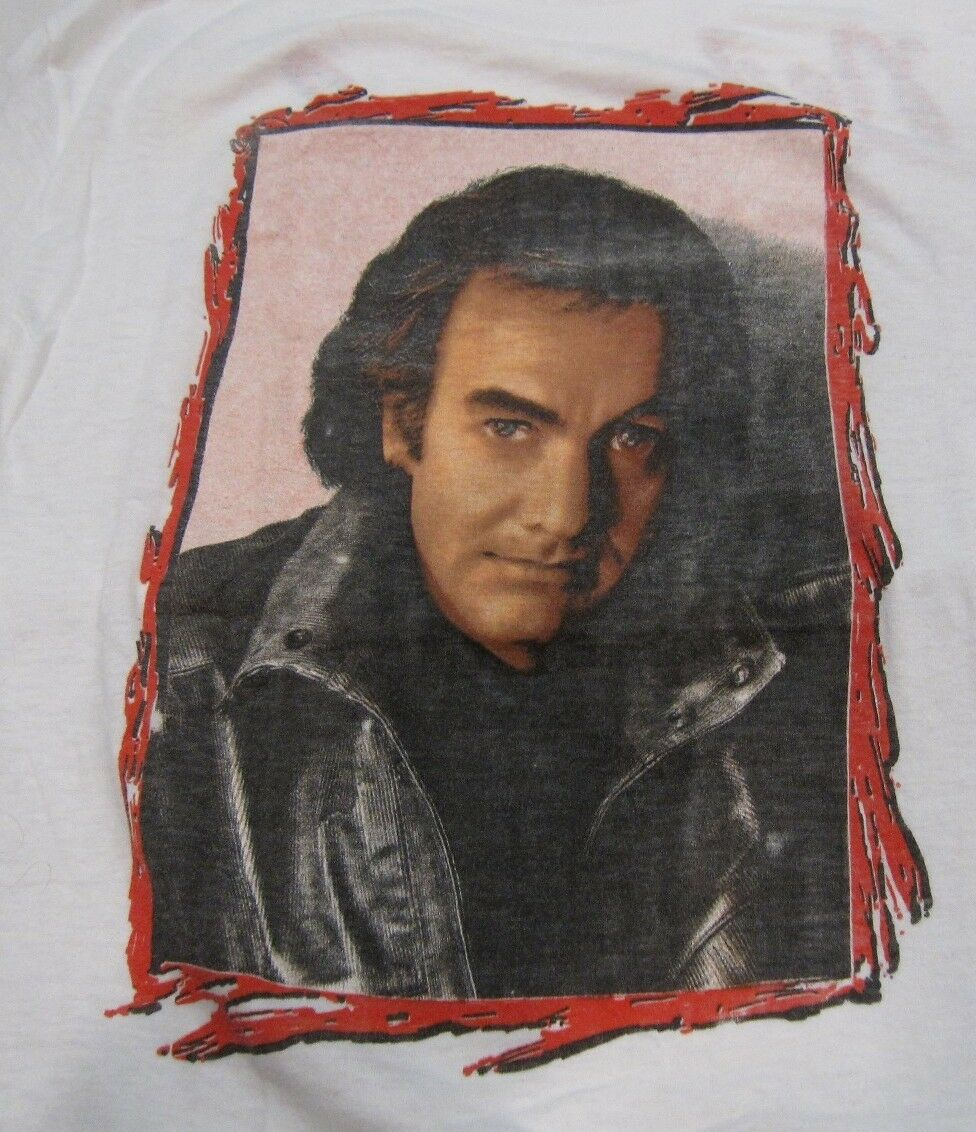 Neil Diamond On Tour Concert T Shirt Small Vintage Original 80's
