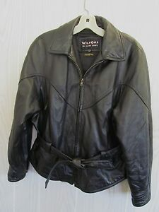 Wilson leather jacket used