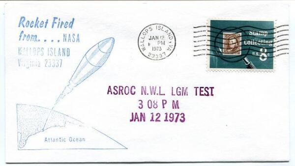 1973 Wallops Island Rocket Fired Asroc N.w.l. Lgm Test Wff Goddard Base Nasa Rendre Les Choses Pratiques Pour Les Clients