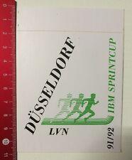 Aufkleber/Sticker: Düsseldorf LVN 91/92 IBM Sprintcup (0305167)