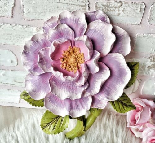 Moule Silicone ROSE 3D Fleur 25cm pour Pâte Polymère Plâtre WEPAM Polyester Cire