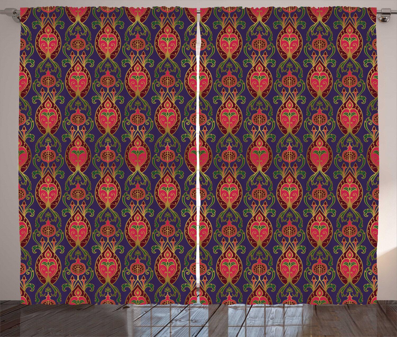 Turkish Curtains 2 Panel Set for Decor 5 Größes Available Window Drapes