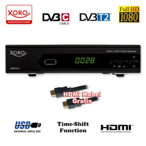 HD-Kabel-Receiver-XORO-HRM-7620-Digital-HRK-7660-Kombo-Kabelreceiver-DVB-C-PV