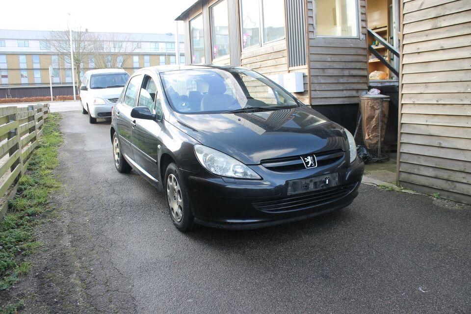 Peugeot 307 1,6 Edition Benzin modelår 2005 km 272000 træk 1