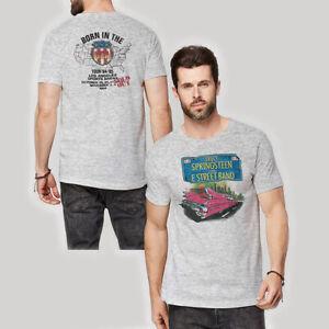 Bruce-Springsteen-Pink-Cadillac-Official-Merch-T-Shirt-S-M-L-XL-2XL-NEU