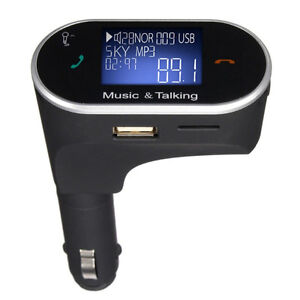 huge selection of 940d4 856ab Details about Bluetooth Handfree FM Transmitter for iPhone 7 Plus LG HTC  Stero Muisc Car Radio