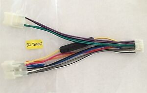 s l300 ecl twh950 toyota car stereo radio wiring harness plug wire Wire Harness Assembly at bakdesigns.co