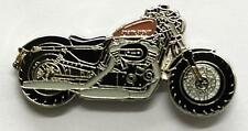 Harley Davidson Forty Eight 48 Sportster Enamel Pin Badge from Fat Skeleton