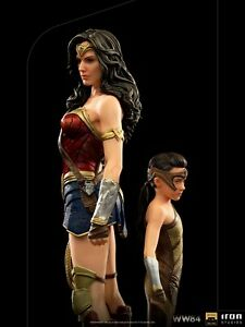 Iron Studios DCCW8433120-10 1//10 WW84 Wonder Woman /& Young Diana Deluxe Toy