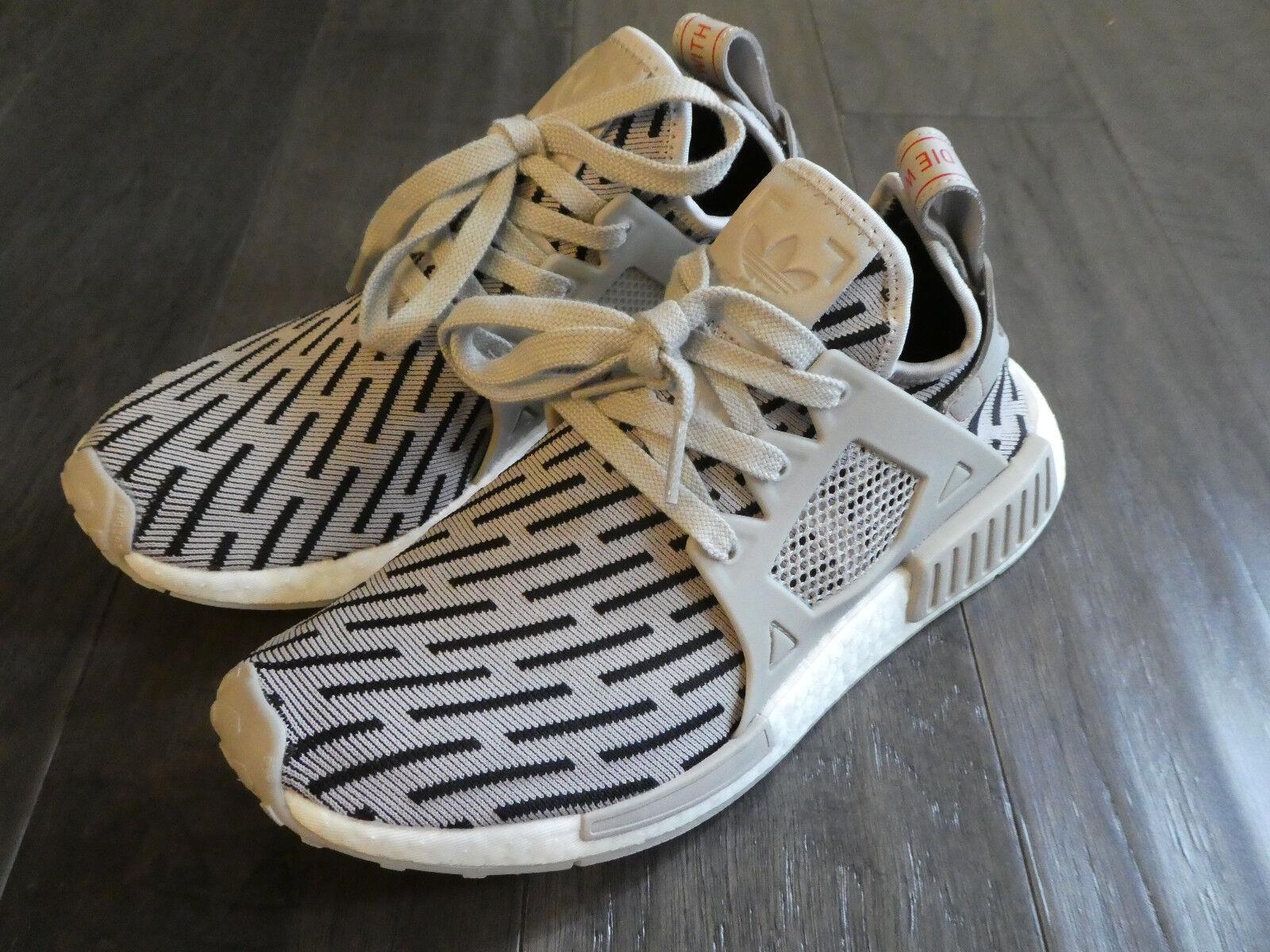 Adidas Womens NMD_XR1 PK Primeknit Boost shoes sneakers new BB2376 Granite