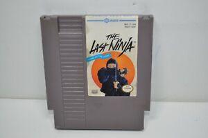 NICE Authentic NES Nintendo The Last Ninja  Game Cartridge 1988