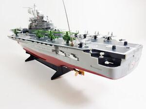 RC-portaaviones-barco-Challenger-acorazado-Buque-De-Guerra-Remoto-Azul-Marino-Barco-Yate-UK