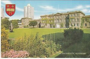 Postcard-THE-UNIVERSITY-LEICESTER-A4