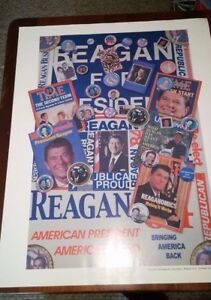 president ronald reagan custom made let s make america great again