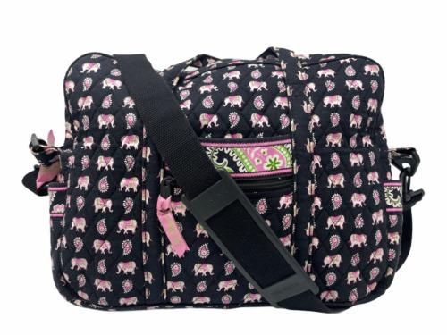 VERA BRADLEY Soft Laptop Crossbody Messenger Bag i
