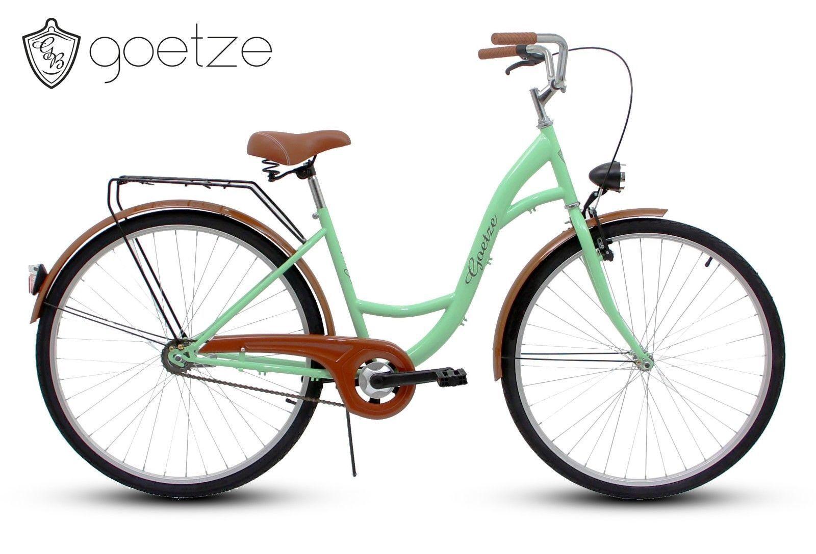 Polbaby Goetze Pistazie Ohne Korb 26 Zoll Fahrrad Citybike