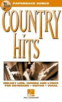 Country Hits 2nd Edition Sheet Music Paperback Songs 000702013