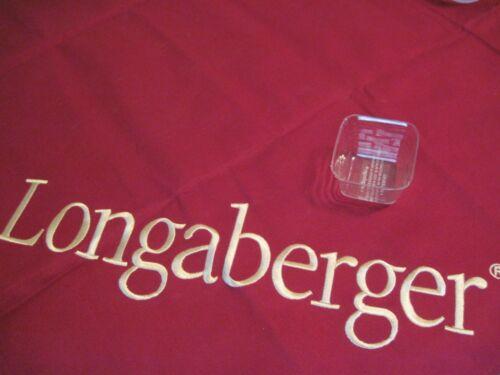 Longaberger~ Plastic Protector for Mini CC May Series Violet Basket